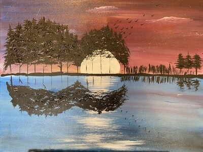 """5/20/2021  6:30pm - 9:30pm """"ROCKIN USA"""" Paint Night @ The King of Clubs 6252 Busch Blvd  Columbus Ohio 43229 *FIRST DRINK INCLUDED in price - No Coupons / No Discounts Accepted**"""