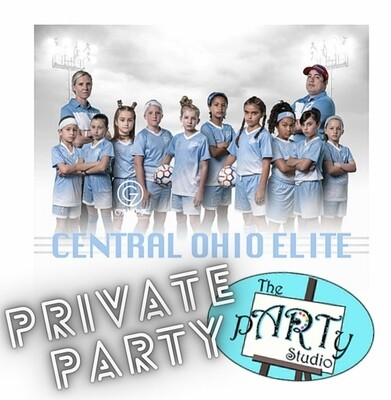 5/15/2021 1:00pm - 4:00pm Private pARTy - Elite - Girls Club Soccer  @ The pARTy Studio