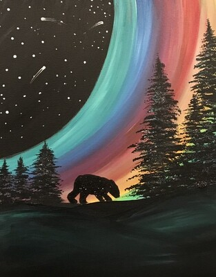 "6/2/2021  6:30pm - 9:30pm ""Alaskan Nights"" Paint Night @ The pARTy Studio"