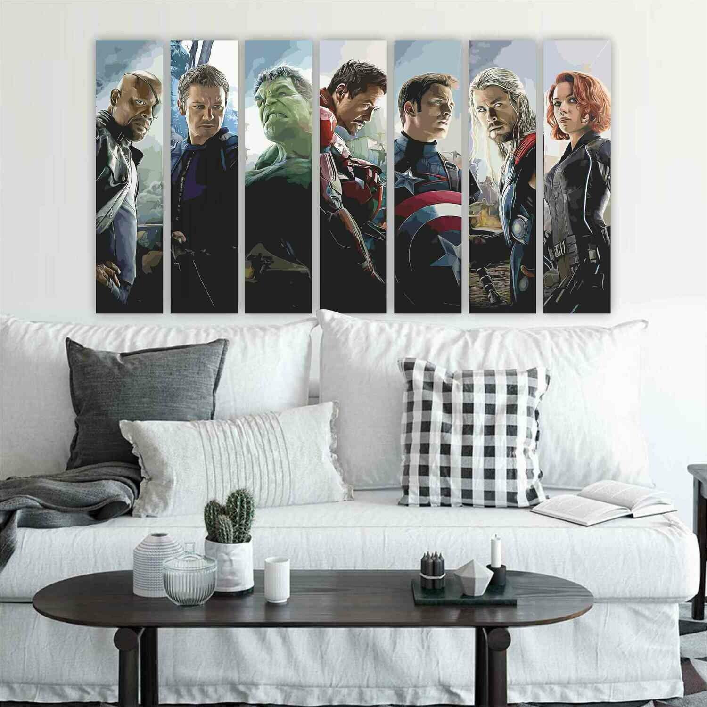 Mural Avengers: Los Vengadores