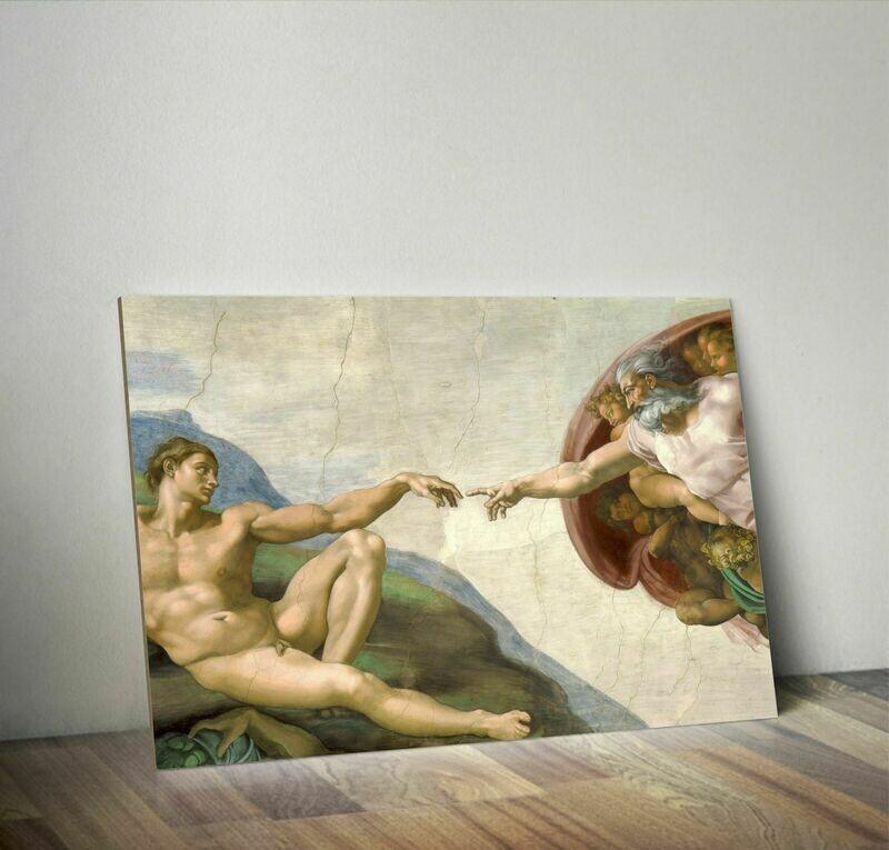 La creación de Adán´- Miguel Ángel