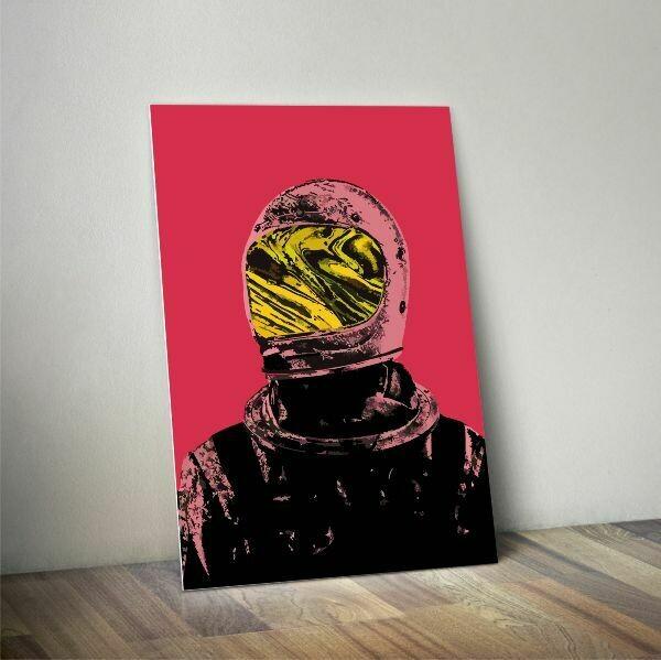 Pink Astronaut