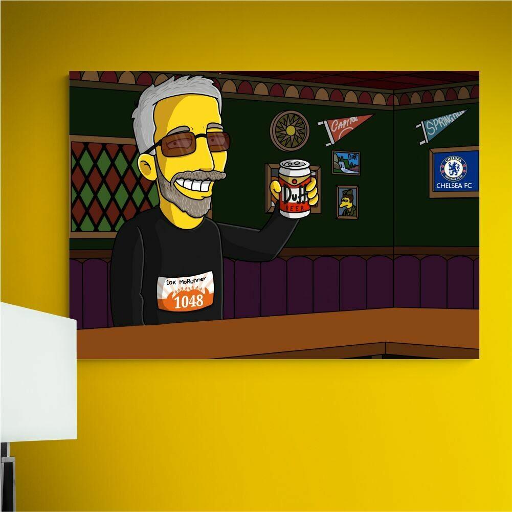 ¡Personalizar mi cuadro Simpson!