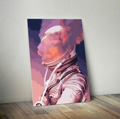 Astronaut Smoke