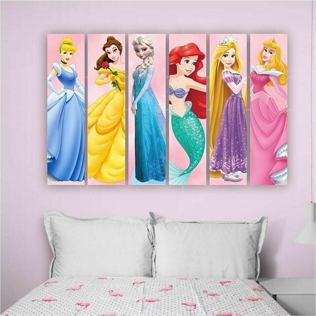Mural Princesas D