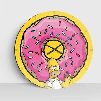 Reloj de Los Simpson