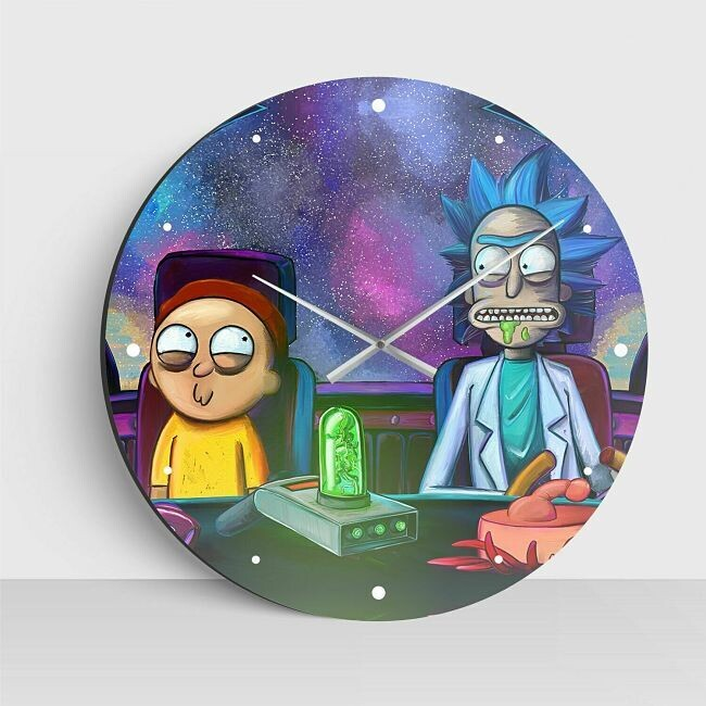 Reloj de Rick and Morty