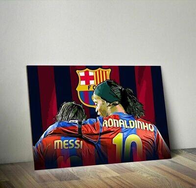 Ronaldinho & Messi