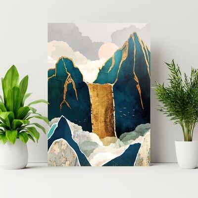 Montañas doradas