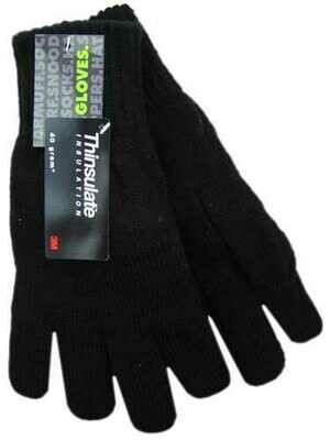 Men's Acrylic 3M Thinsulate Insulated Thermal Gloves