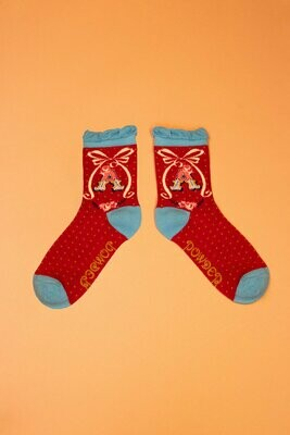 A-Z Ankle Socks - A