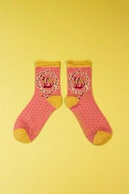 A-Z Ankle Socks - D