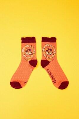 A-Z Ankle Socks - G