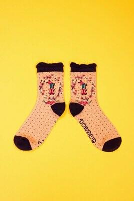 A-Z Ankle Socks - I