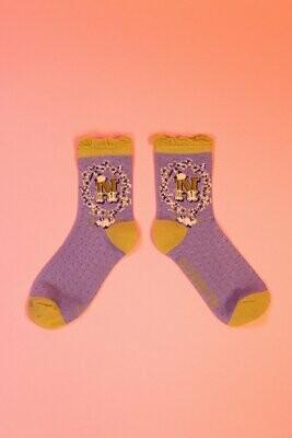 A-Z Ankle Socks - N
