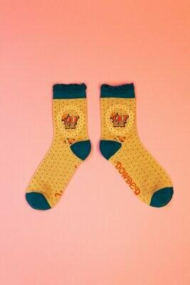 A-Z Ankle Socks - W