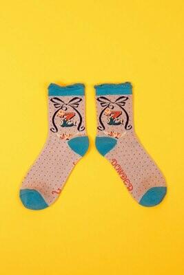 A-Z Ankle Socks - Z