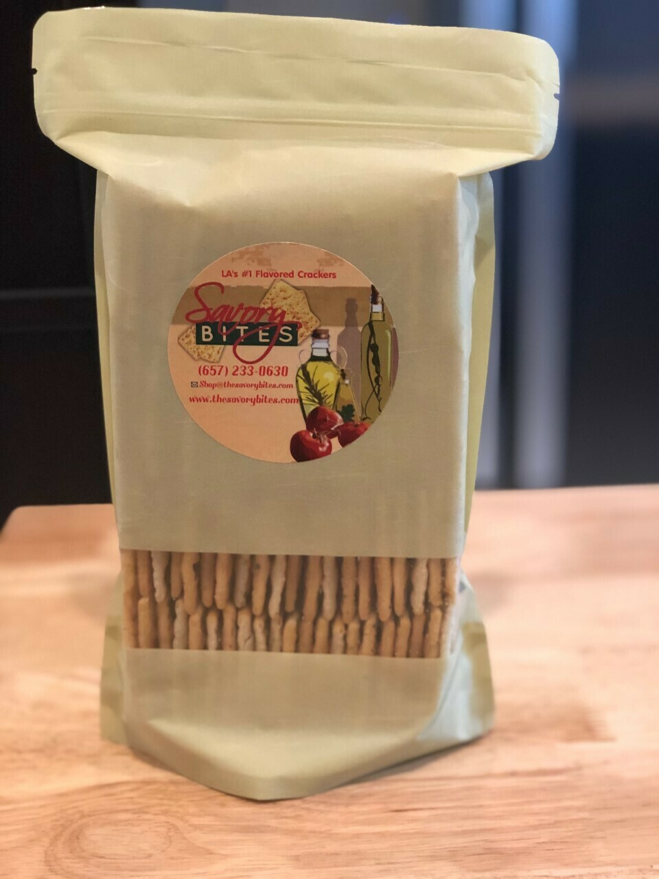 Party Size Bag, (95-100 Crackers in a 16 oz bag)