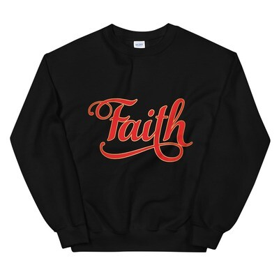 Faith Sweatshirt Women & Men