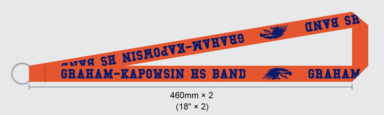 GKHS Band Lanyard