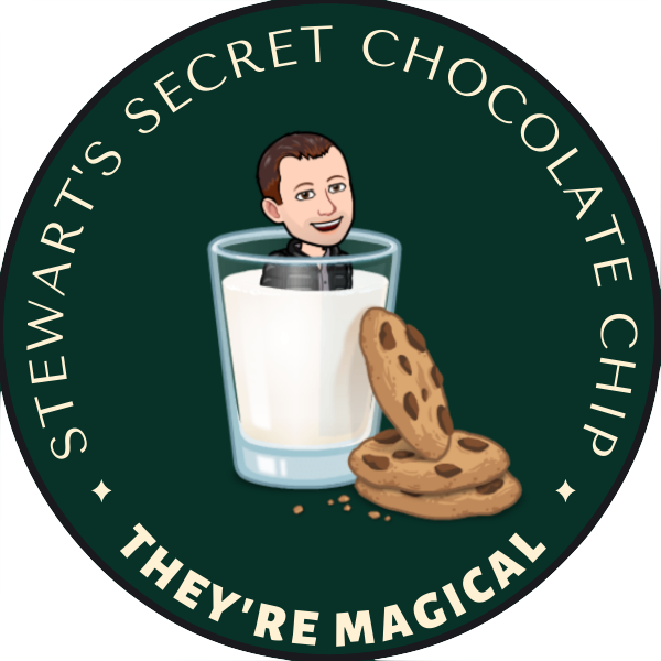 Stewart's Secret Chocolate Chip - 3lb Cookie Dough Tub