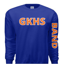 LIMITED EDITION GKHS BAND SWEATSHIRT