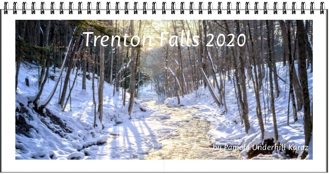 Trenton Falls Desk Calendar Pkg