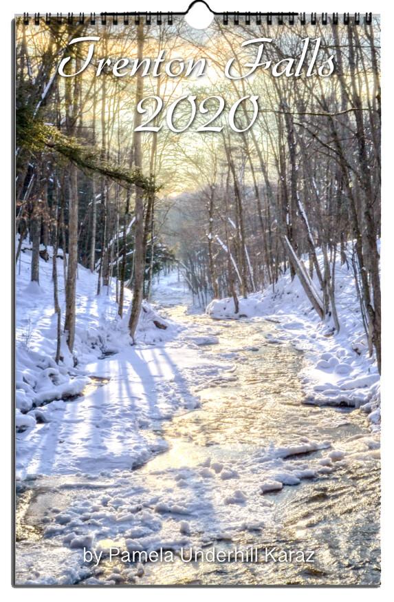 Trenton Falls 11x17 Wall Calendar Pkg