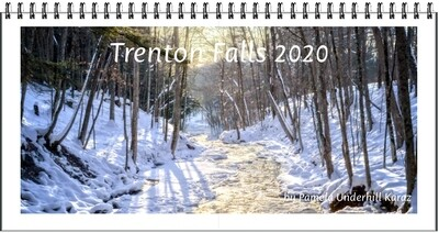 2020 Trenton Falls Desktop Calendar Only