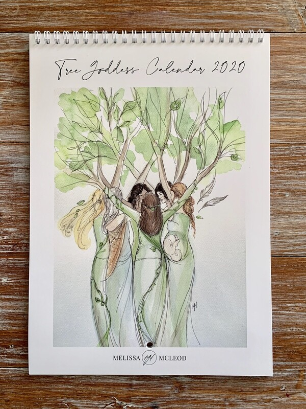 Tree Goddess Calendar 2020 FREE Shipping in Australia