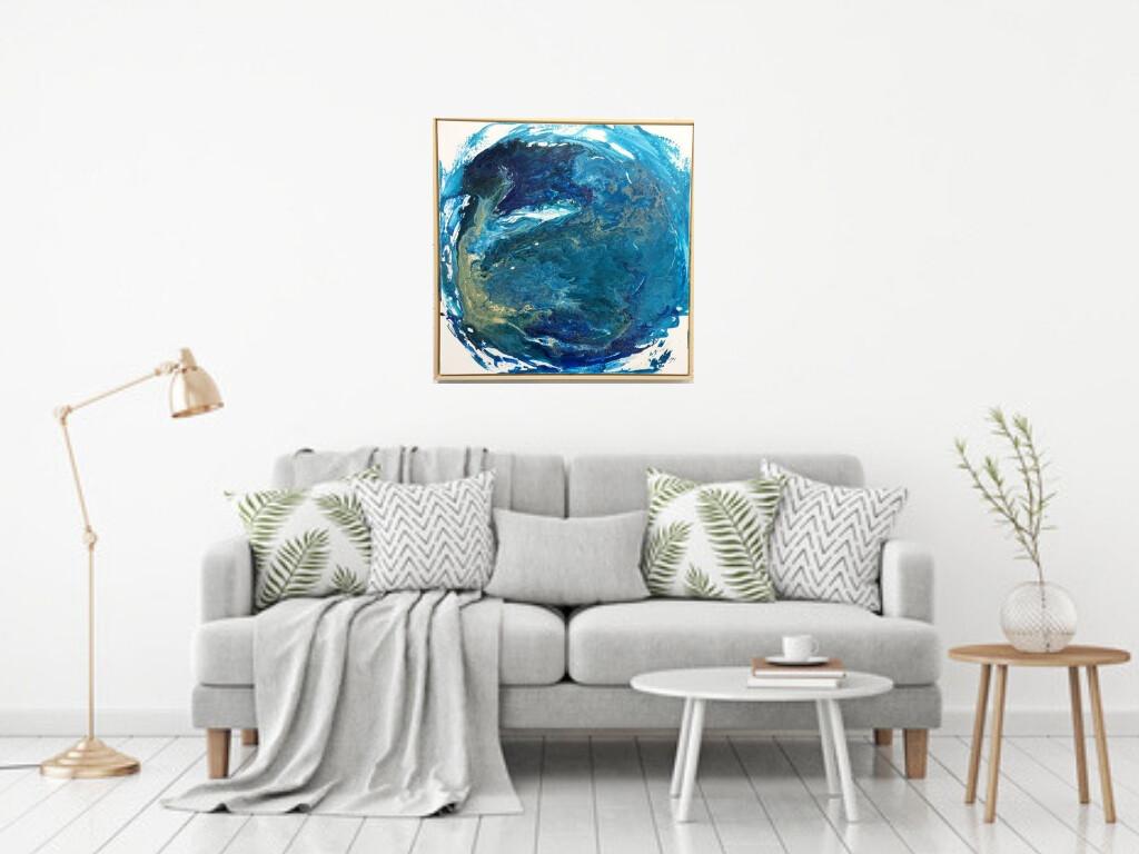 Earth (Framed)