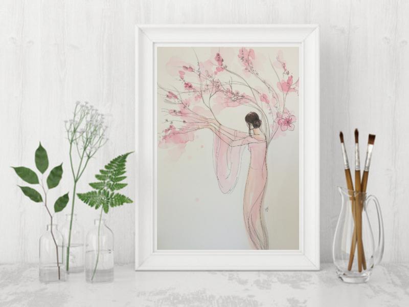 Blossom Tree Goddess