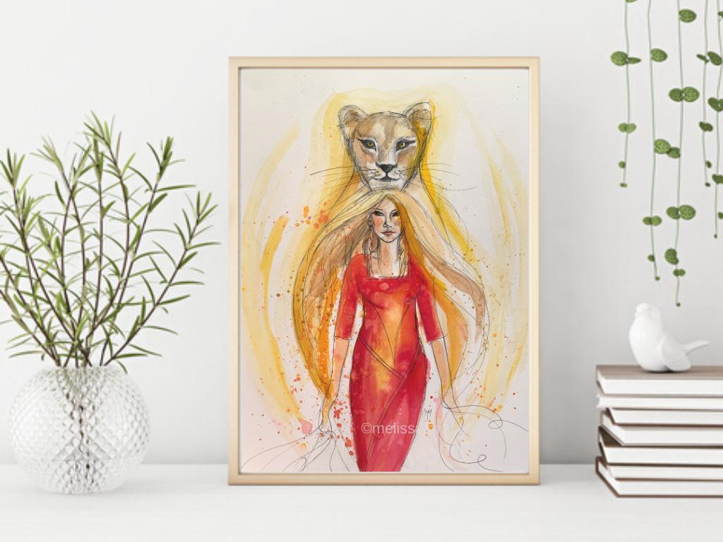 'Lioness Goddess'