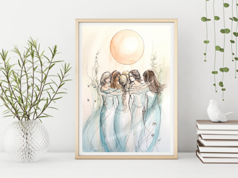 Fine Art Giclée Print - One Tribe