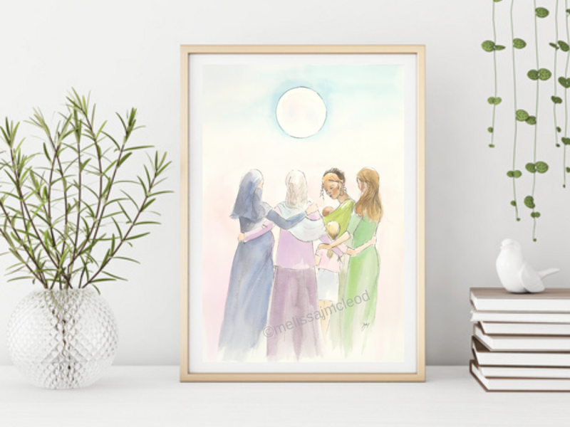 Fine Art Giclée Print - Soul Sisters
