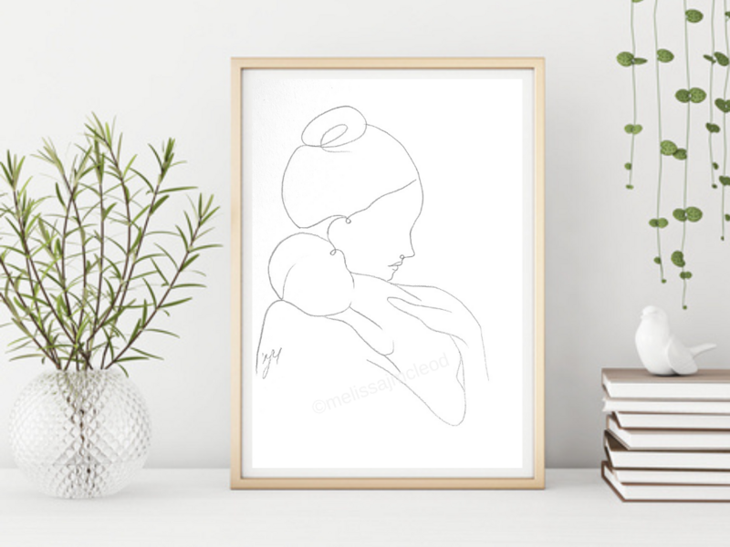 Fine Art Giclée Print - Pure Love