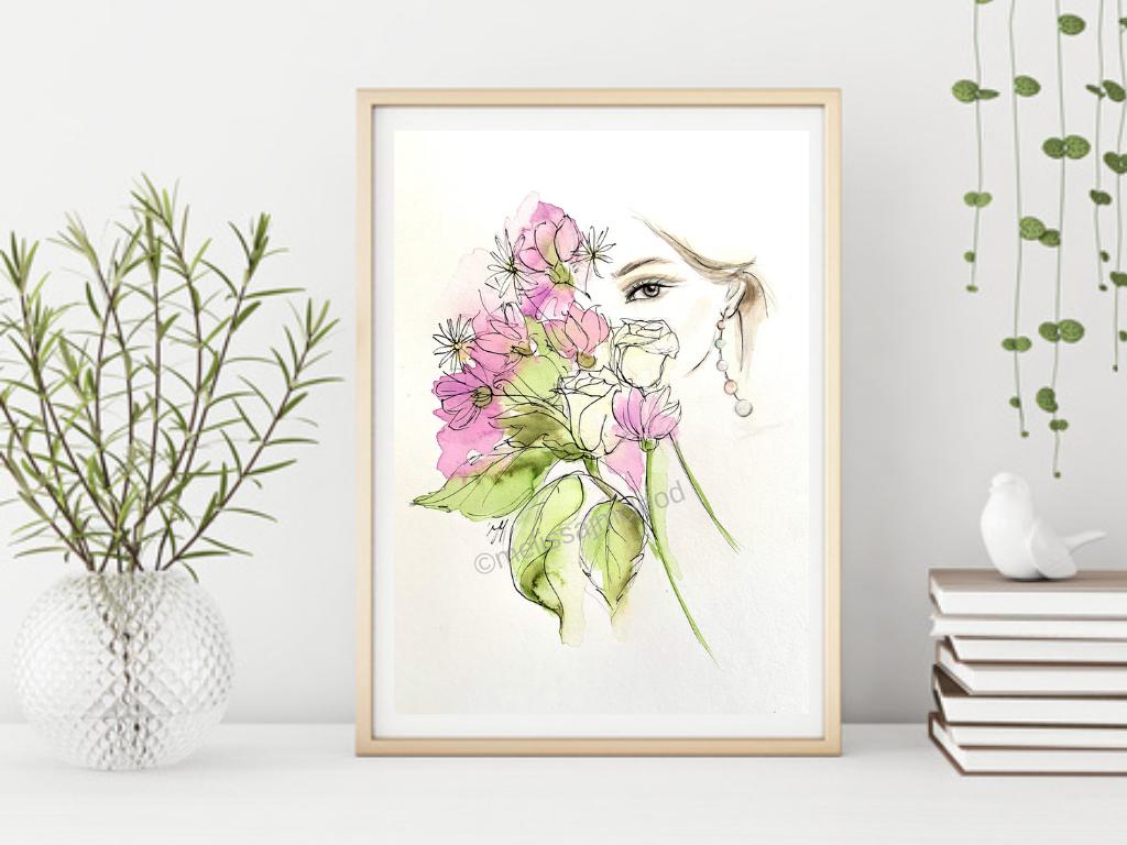 Fine Art Giclée Print - Lilac Love