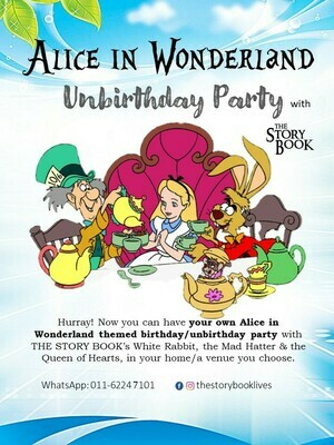 Alice in Wonderland Unbirthday Party