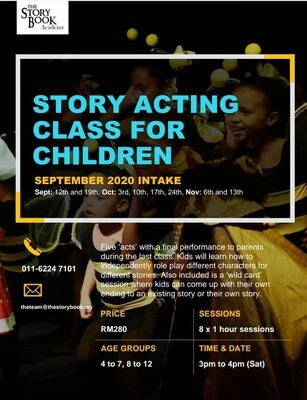 Story Acting Class for Children