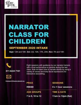 Narrator Class for Children