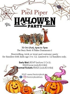 Pied Piper Halloween Party