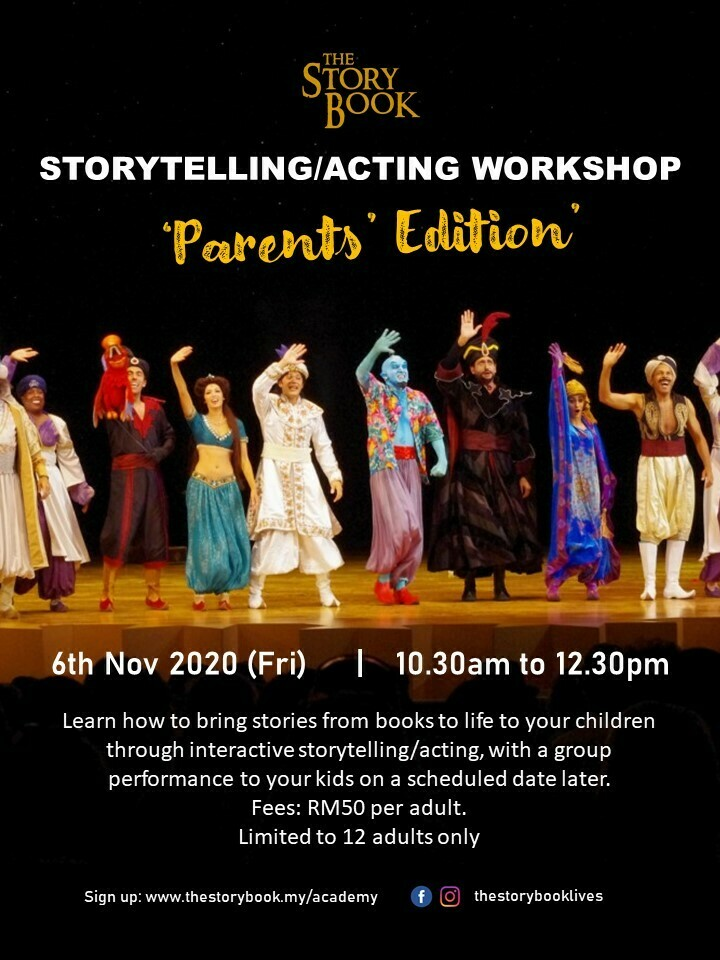 Storytelling/Acting Workshop for Parents