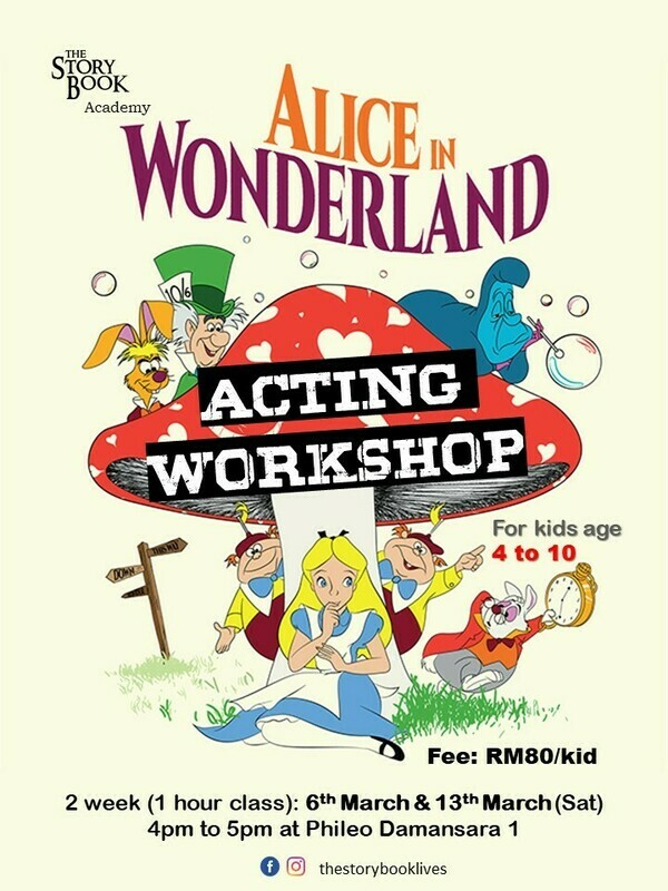 Alice in Wonderland Acting Workshop (Physical class)