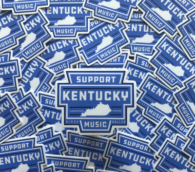 Support Ky Music Sticker