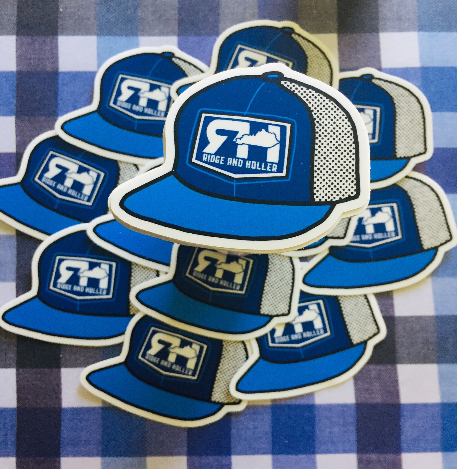 RH Tiny Hat Stickers-Collectors Series