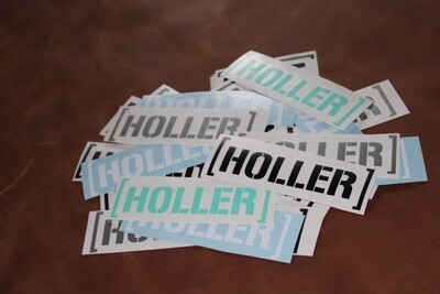 Holler Decal