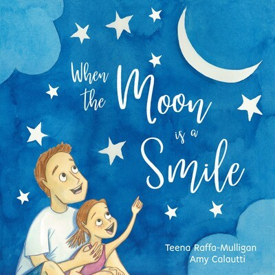 When the Moon is a Smile -Hard cover.