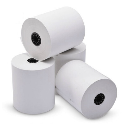 """Thermal paper for POS systems 3 1/8"""" x 230' thermal (50 rolls)"""
