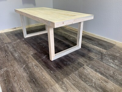 Canyon Beetle Pine Dining Table