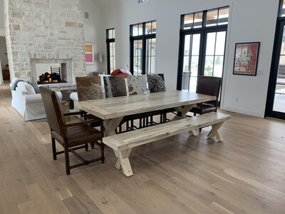 Cordova Dining Table With Turnbuckle Hardware